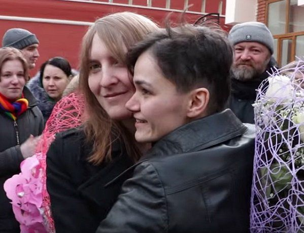 Russian lesbian couple will marry