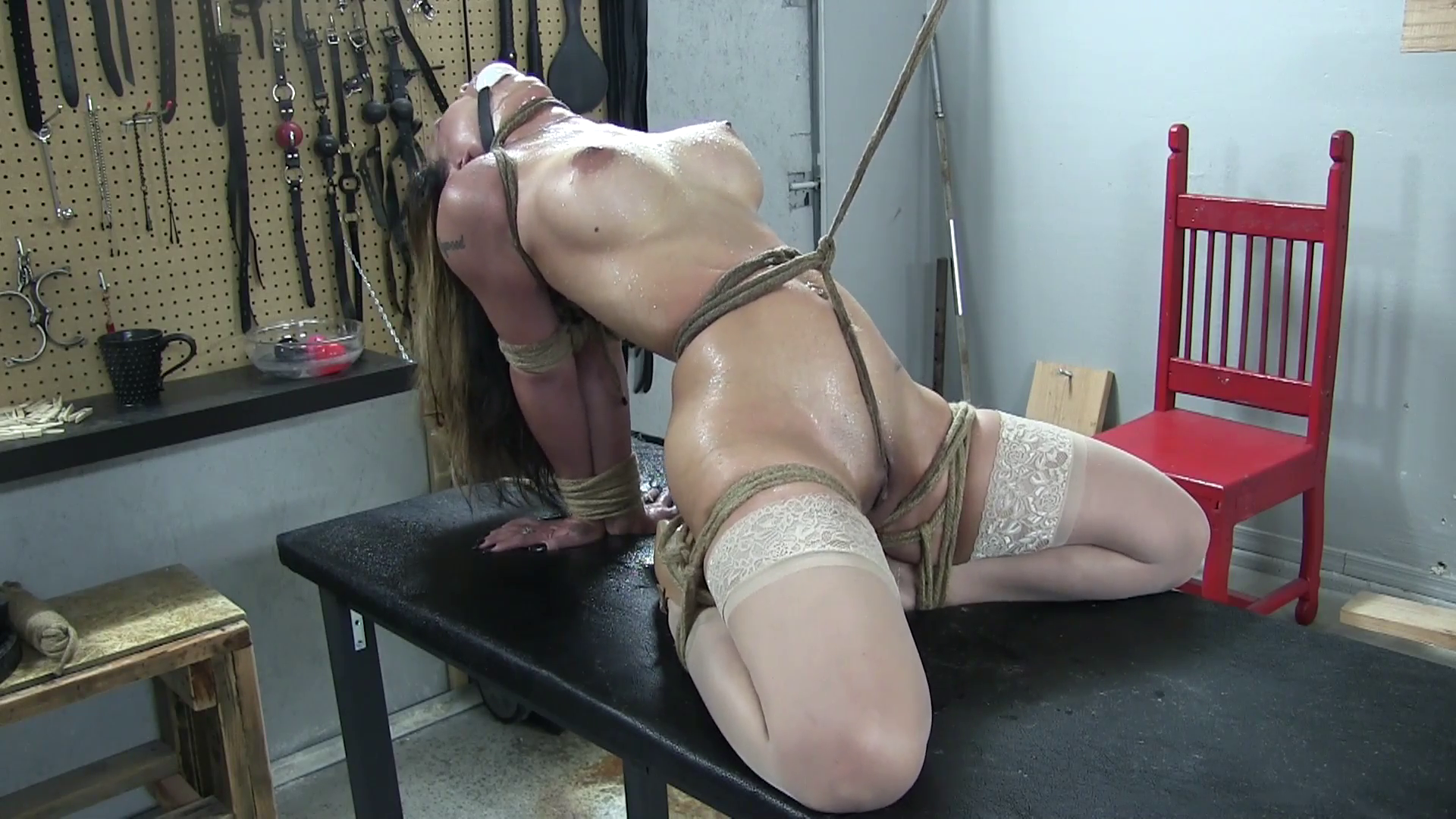 The matchless bondage stories predicament sex above told the