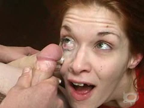 Cum In Eye Porn