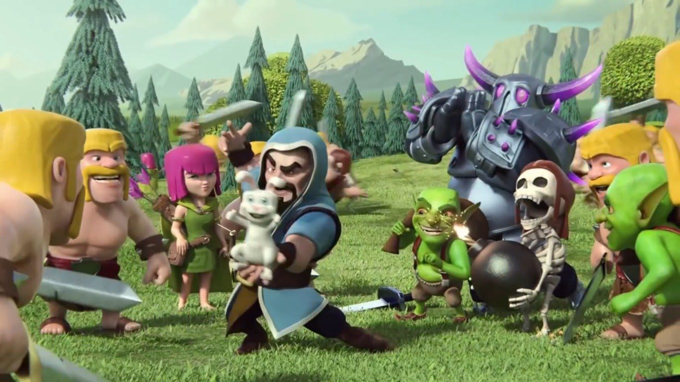 Funny clash of clans animations