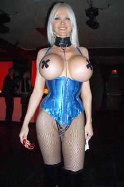 Huge boob corset