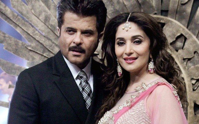 Red H. reccomend Madhuri dixit and anil kapoor