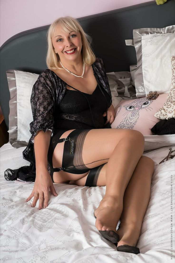 Sexy lady and her nylon lover