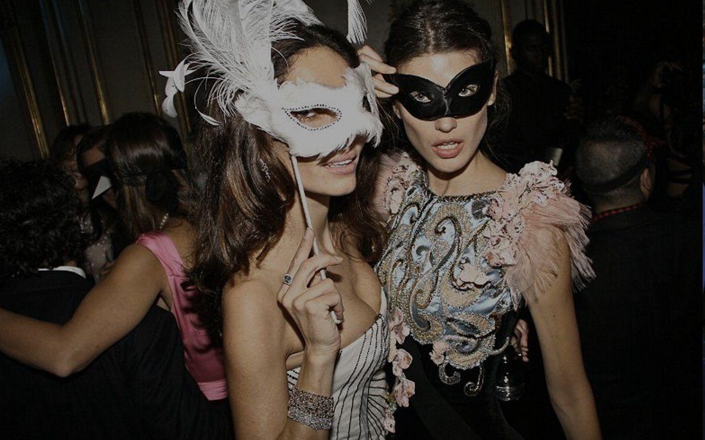 Nude masquerade party women - XXX photo.