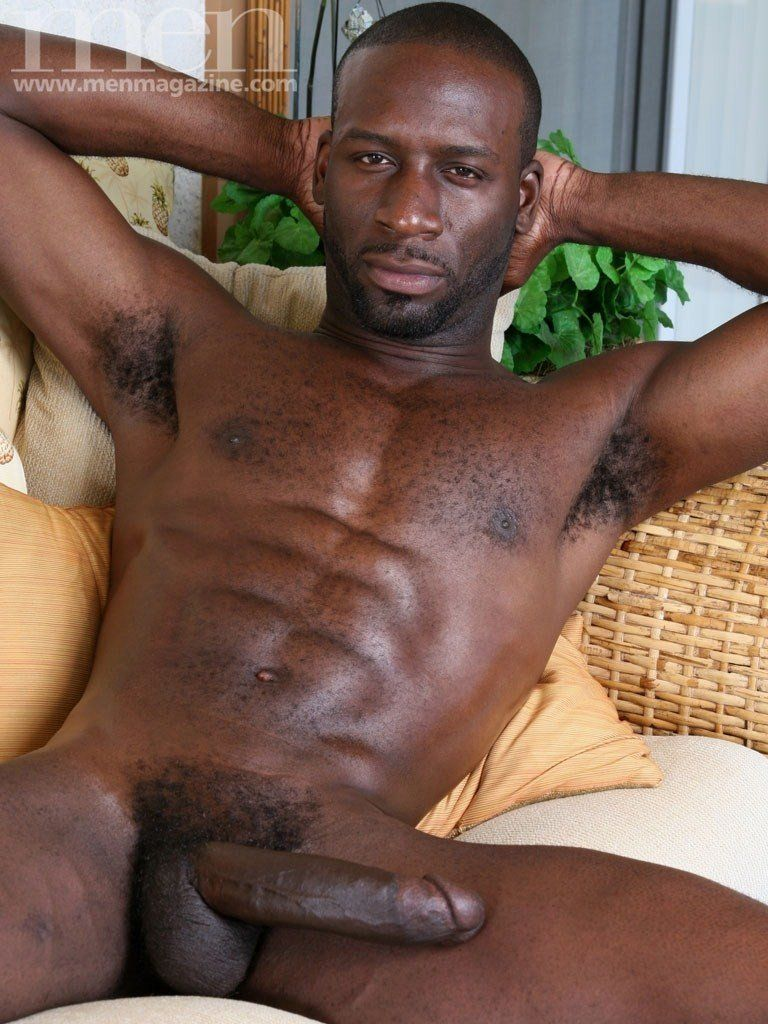 Big black man dick