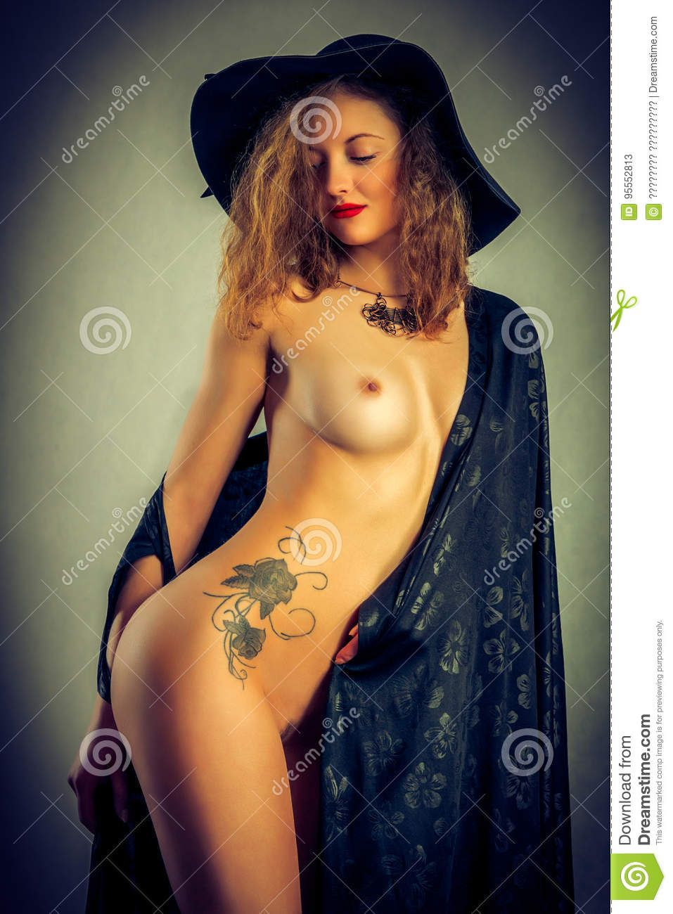 best of Tattoo breast the Nude in