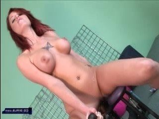 Shield reccomend Fat chick squirts because of dildo machine