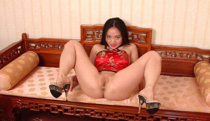 Shaved matre asian pussy free