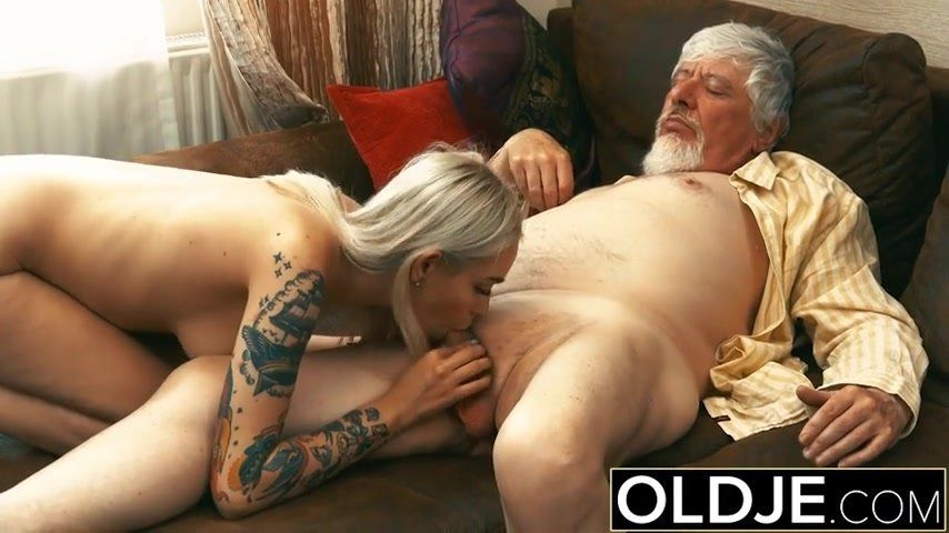 Teen pussy gangbanged by old men