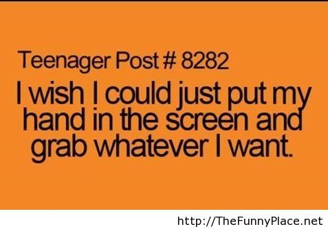 Teenager post funny pictures