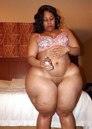 black nude Thick girl