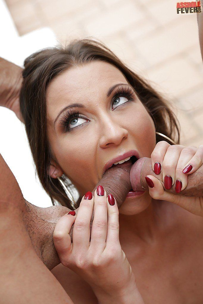 Two Dicks In Mouth Sex Photo