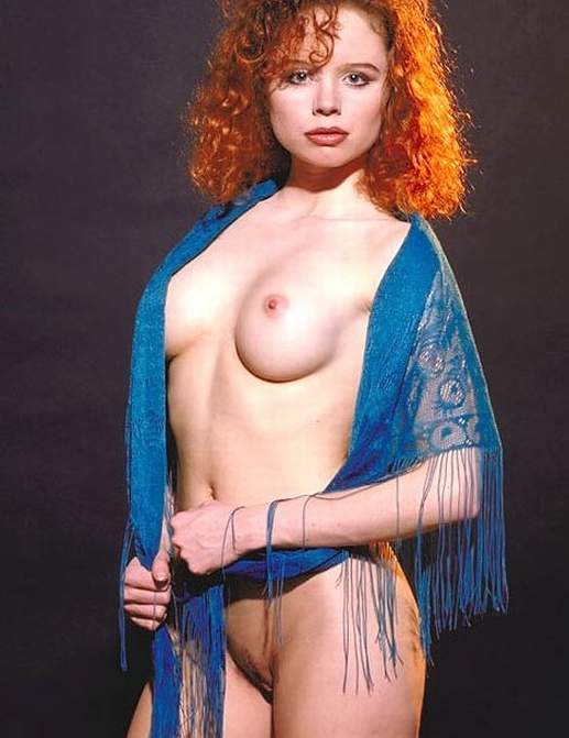 Vintage redhead girl naked