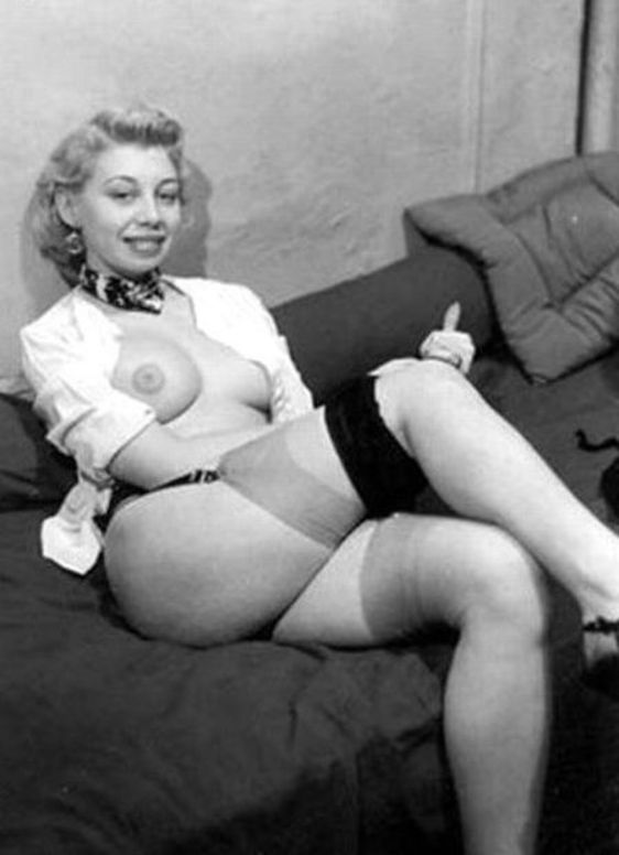 For nudes in stockings vintage will not pass
