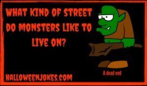 Where do monsters live joke