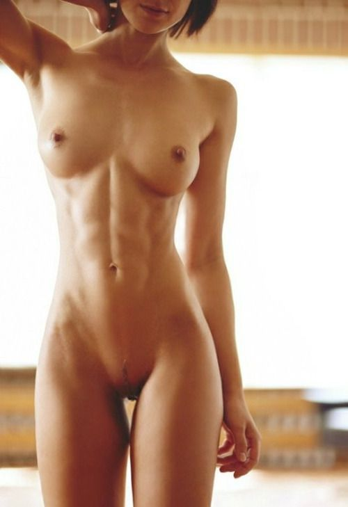 Have faced flat nude woman abs excellent phrase and